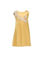 HERBERTO Girls Golden A-Line Dress