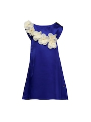 HERBERTO Girls Blue A-Line Dress