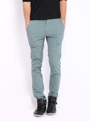 HRX Men Blue Trousers