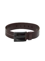 HRX Men Brown Leather Belt