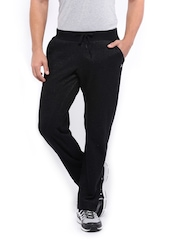 HRX Men Black Active Track Pants