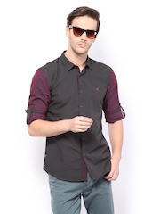 HRX Men Black Casual Shirt