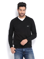 HRX Men Black Challenger Sweatshirt