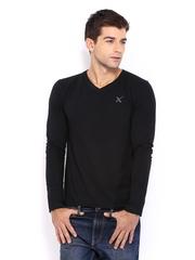 HRX Men Black T-shirt
