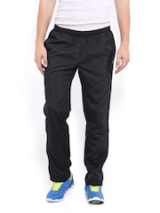 HRX Men Sports Active Black & Grey Pro Walker Track Pants