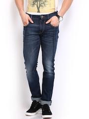 HRX Men Blue Skinny Fit Jeans