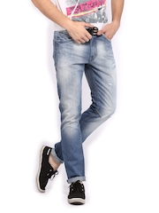 HRX Men Blue Slim Fit Jeans