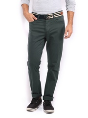 HRX Men Charcoal Grey Trousers