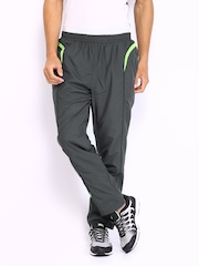 HRX Men Sports Active Grey Training Track Pants