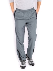 HRX Men Sports Active Grey Jogger's Track Pants