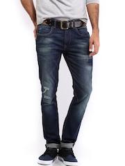 HRX Men Indigo Blue Jeans