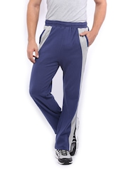 HRX Men Navy Active Track Pants
