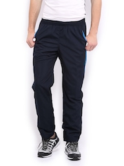 HRX Men Sports Active Navy Performance Track Pants