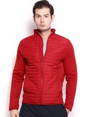 HRX Men Sports Active Hybrid Padded Red Jacket