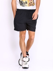 HRX Men Black Active Shorts