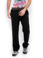 HRX Men Black Track Pants