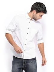 HRX Men White Casual Shirt