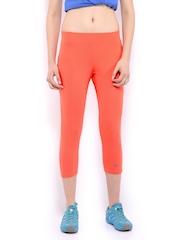 HRX Women Coral Orange Capris