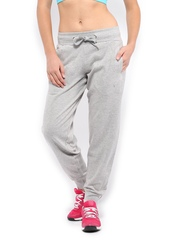 HRX Women Grey Melange Track Pants