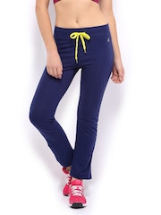 HRX Women Navy Track Pants