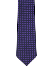 Hakashi Men Navy & Purple Tie
