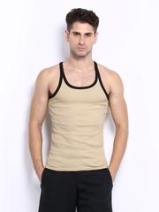 Hanes Men Beige Innerwear Vest P115