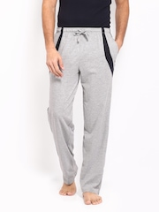 Hanes Men Grey Melange Lounge Pants MPP11-003
