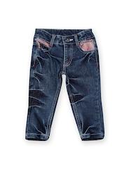 Happy Face Boys Blue Jeans