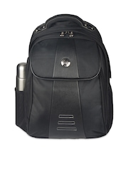 Harissons Unisex Black Laptop Bag