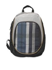 Harissons Unisex Black & Navy Backpack
