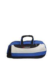 Harissons Unisex Royal Blue & Black Duffle Bag
