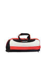 Harissons Unisex Red & Black Duffle Bag
