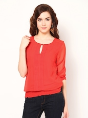 Harpa Women Coral Pink Top