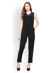 Harpa Women Black Jumpsuit