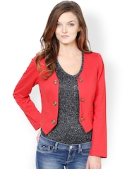 Harpa Women Coral Red Jacket