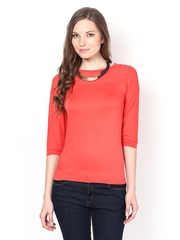 Harpa Women Coral Red Top