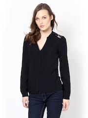 Harpa Women Black Top