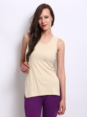 Heart 2 Heart Women Skin Coloured Thermal Tank Top