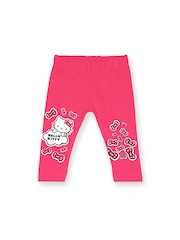 Hello Kitty Infant Girls Pink Printed Leggings