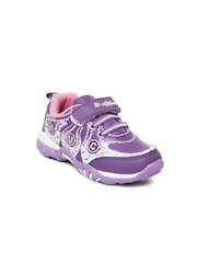 Hi Attitude Girls Purple Casual Shoes