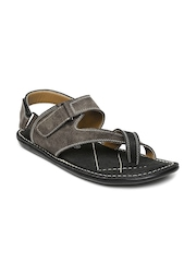 Men Olive Green Sandals Hi Attitude