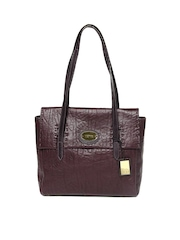 Hidesign Wine Coloured Handbag