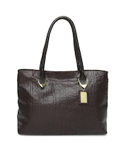 Hidesign Brown Yangtze Handbag