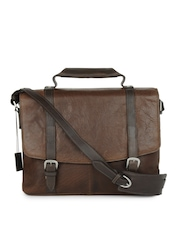 Hidesign Men Brown Union Street Sling Bag