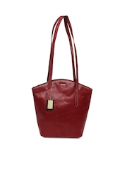 Hidesign Red Leather Handbag