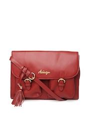Hidesign Red Shoulder Bag