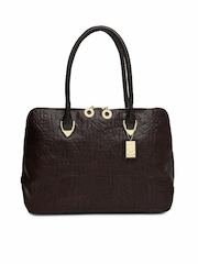 Hidesign Women Brown Leather Handbag
