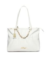Hidesign White Leather Handbag