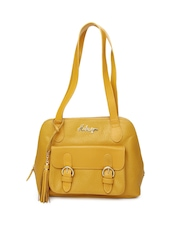 Hidesign Yellow Handbag