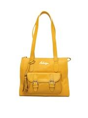 Hidesign Yellow Shoulder Bag